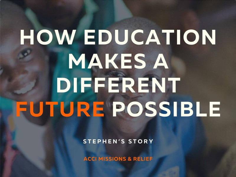 How Education Makes A Different Future Possible