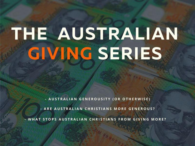 Australian Giving Series
