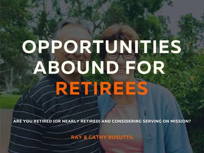 Opportunities abound for retirees